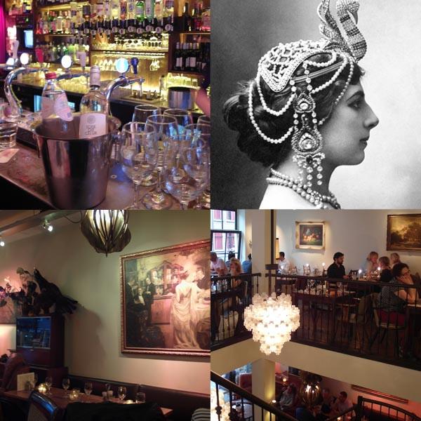 Bag at You Mata Hari collage