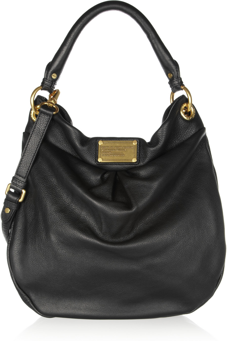 Marc By Jacobs Laukku : Marc by jacobs classic black hobo bag at you