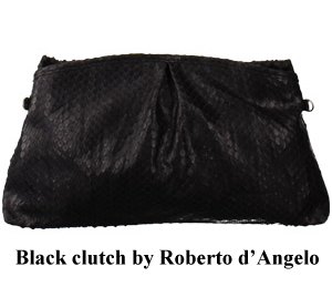 Bag at You Roberto d'Angelo clutch black