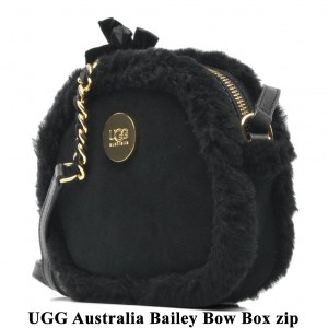 Bag at You UGG Australia Black Box zip