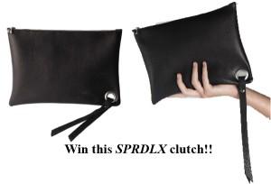 Win a SPRDLX black clutch - bag