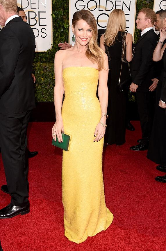 Leslie Mann Golden Globes2015