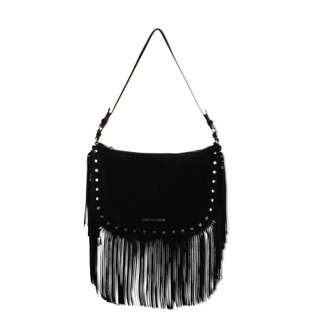 Bag at You - Black Fringe Bag - Michael Kors