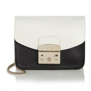 Bag at You - Furla Shoulderbag Metropolis Black White