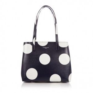 Bag at You - L.K. Bennett Kenzie Shoulderbag - Black White
