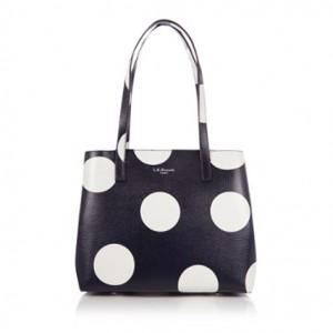 Bag at You - L.K. Bennett Kenzie Shoulderbag - Black White