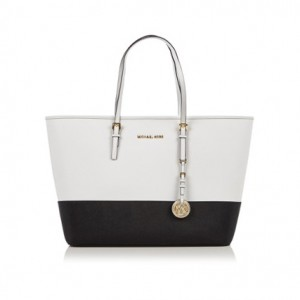Bag at You - Michael Michael Kors Tote - Black White