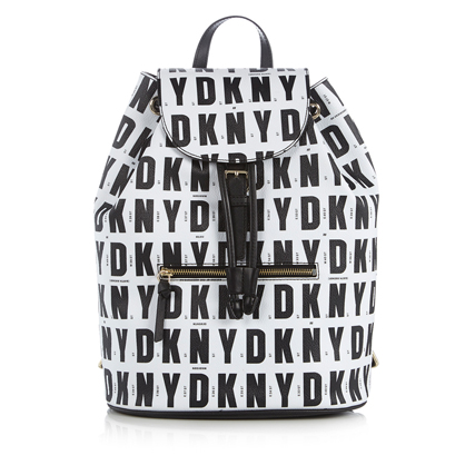 Bag at you - DKNY Backpack - Black White