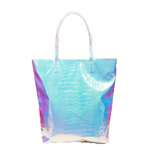 Bag at You - ASOS Snake Hologram Beach Bag - Strandtas