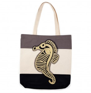 Bag at You - Bagerage Seahorse tote bag - Beach - Strandtas