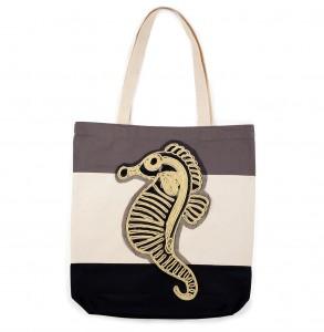 Bag at You - Bagerage Seahorse tote bag - Beach - Strandtas
