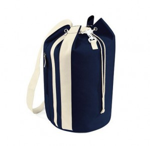 Bag at You - Duffle Beach Bag Navy-Natural - strandtas - Beach bag