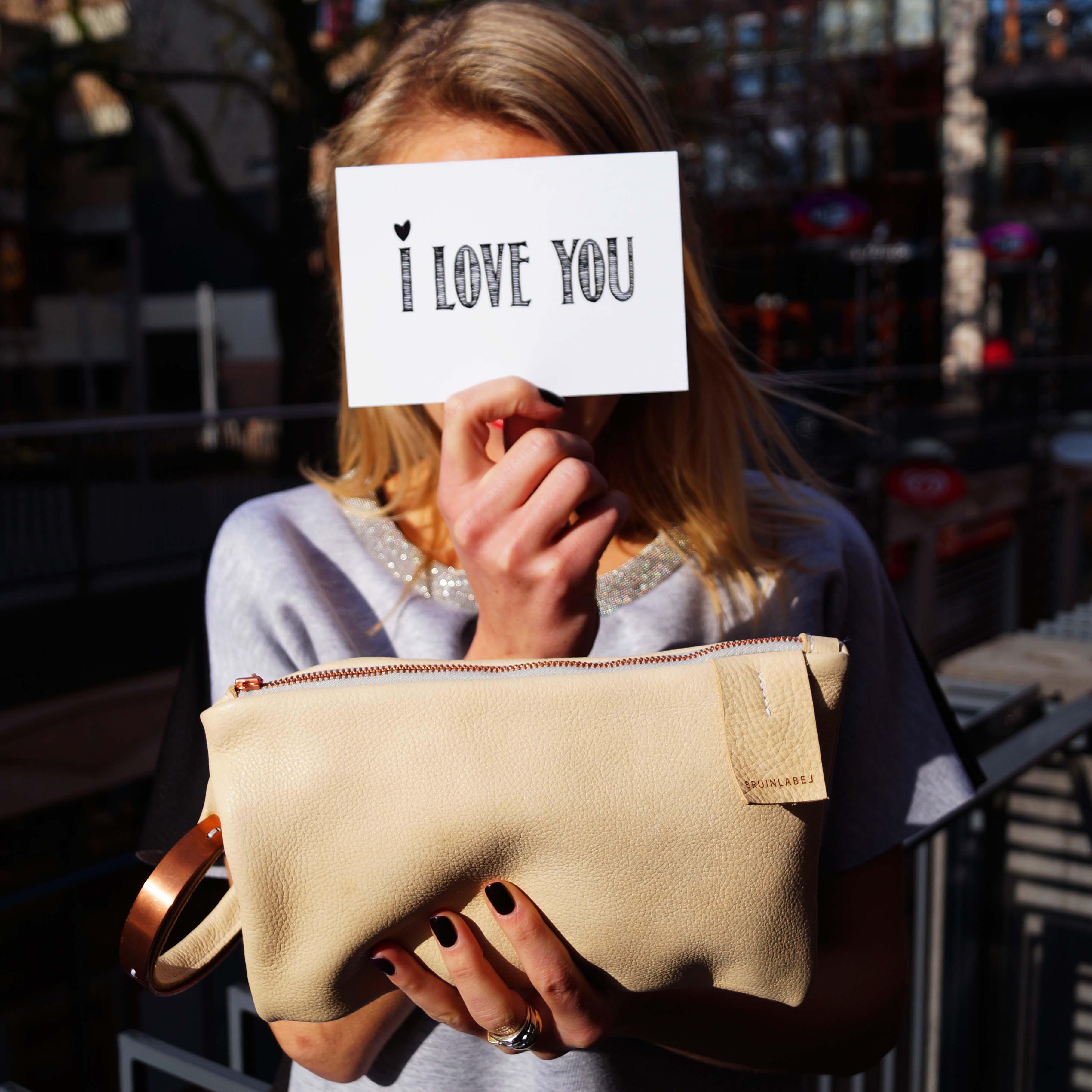 Bag at You - Nijmegen MOOD Conceptstore - Bruinlabel bag - clutch