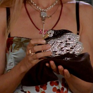 Bag at You - The Bag and the Beast - Carrie Bradshaw Duck Bag - Sex and the City
