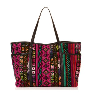 Bag at You - Topshop Tapestry Poppings Tote Bag - Beach - strandtas