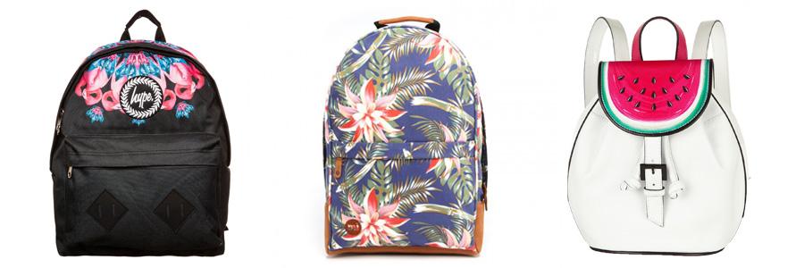 Bag at You - Backpack Tropical Print - Fashion Blog