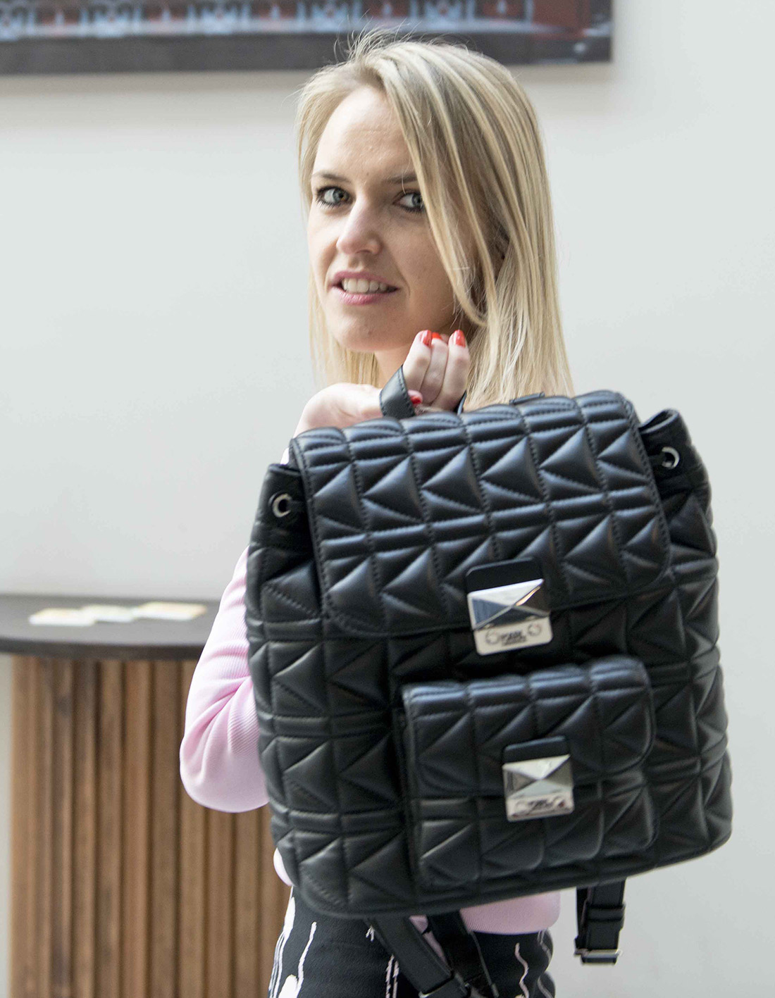 Bag-at-You---Fashion-Blog---Black-Backpack---Karl-Lagerfeld