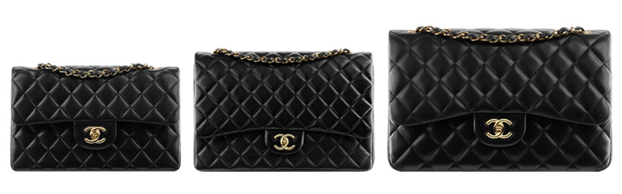 Bag at You - Fashion Blog - Chanel Flap Bag Small Classic Large