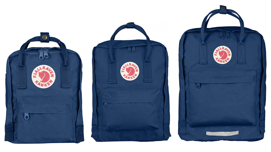 Bag at You - Fashion Blog - Fjallraven Kanken Mini Medium Maxi