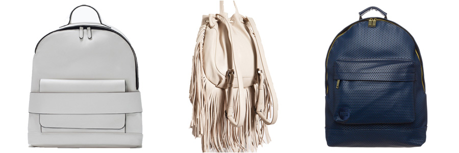 Bag at You - Faux Leather Backpacks - Fashion Blog