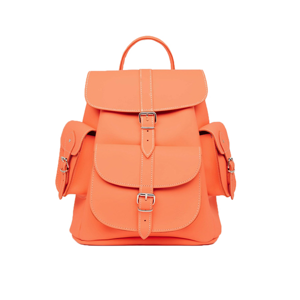 Bag at You - Grafea Hari Backpack Orange - Fashion Blog