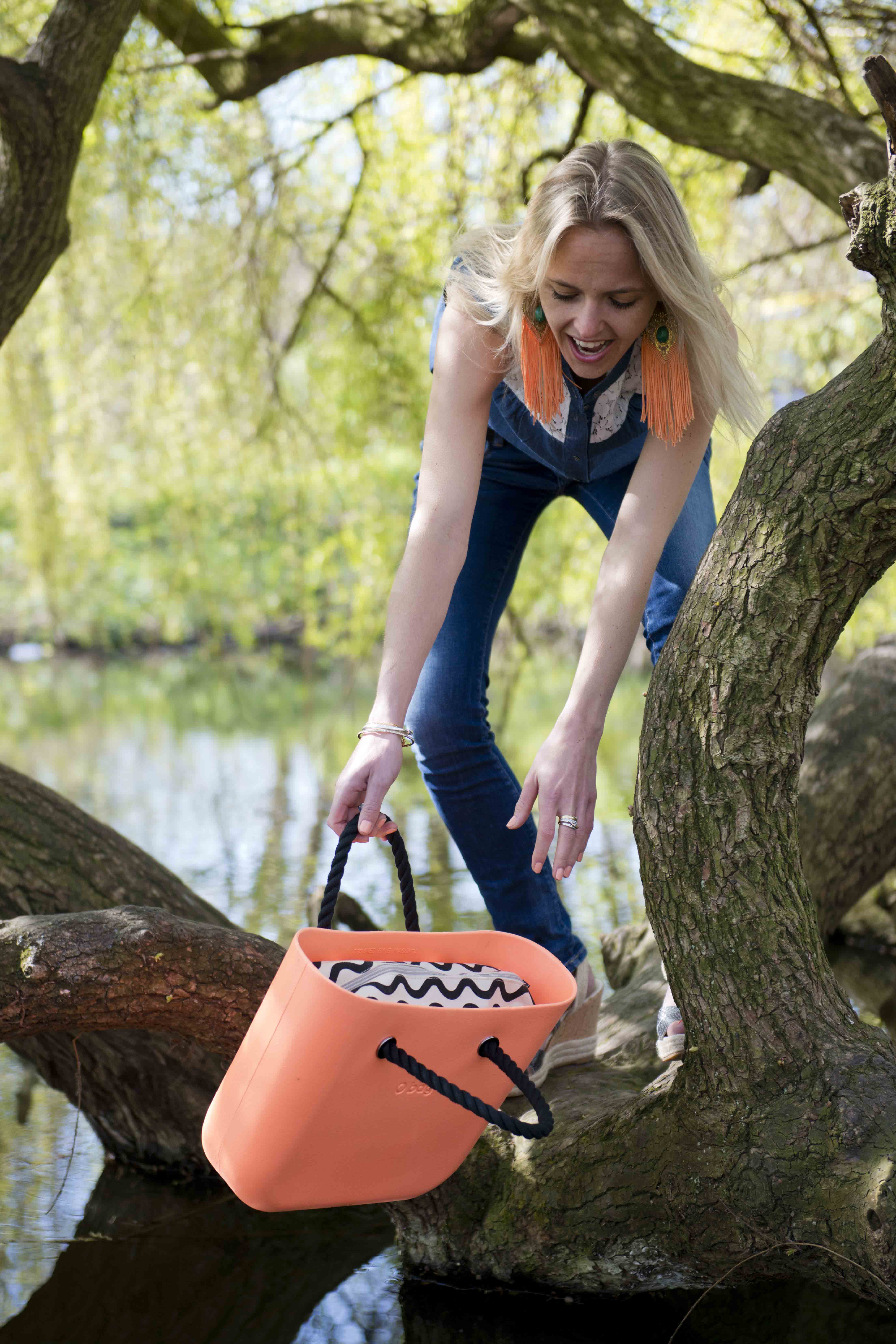 Bag at You - Kingsday - Koningsdag 2015 - O Bag - Fashion Blog - Don't fall in the water