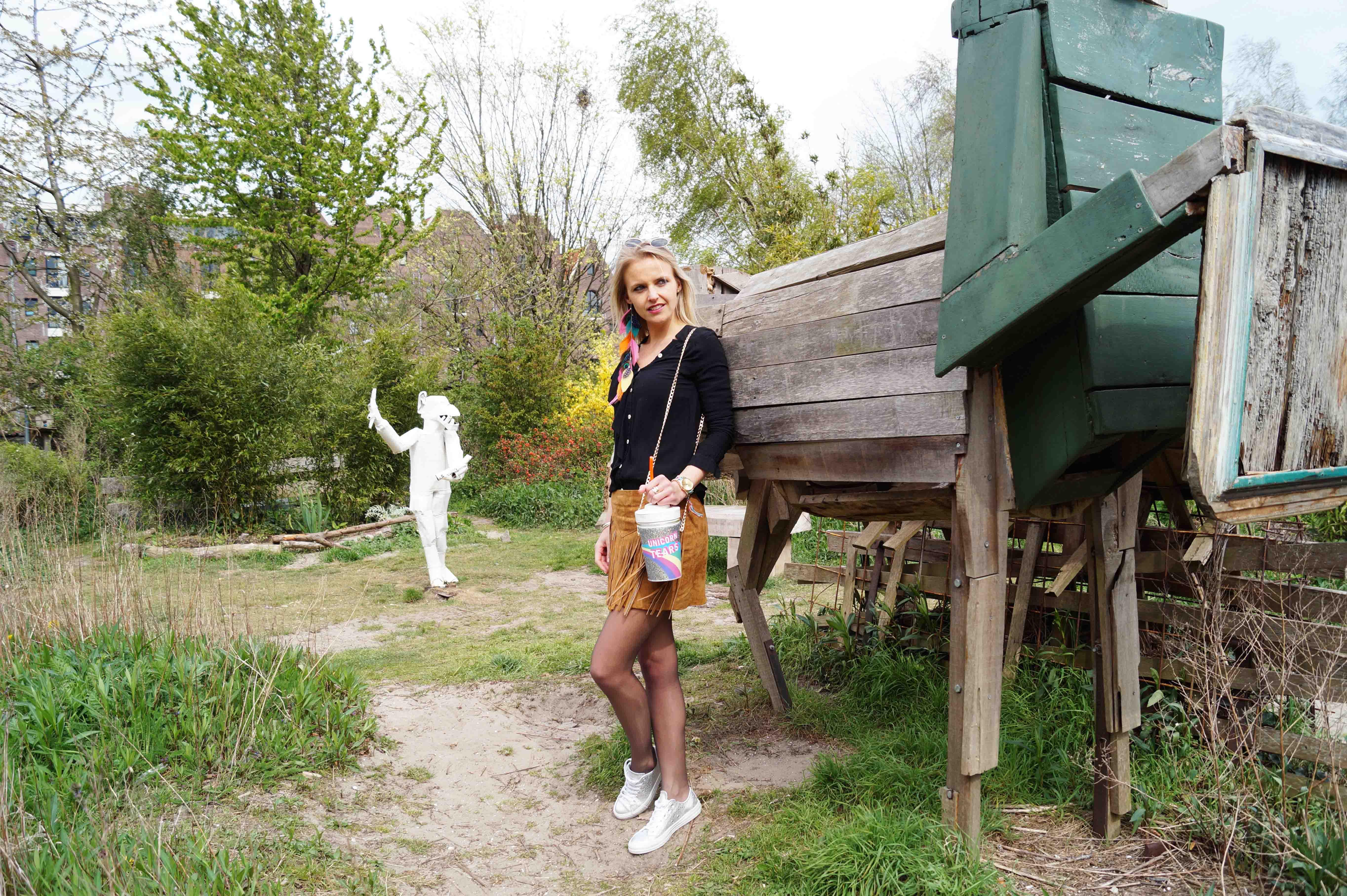 Bag at You - Fashion Blog - Festival outfit - Party Bag - Milkshake tas - Unicorn schoudertas
