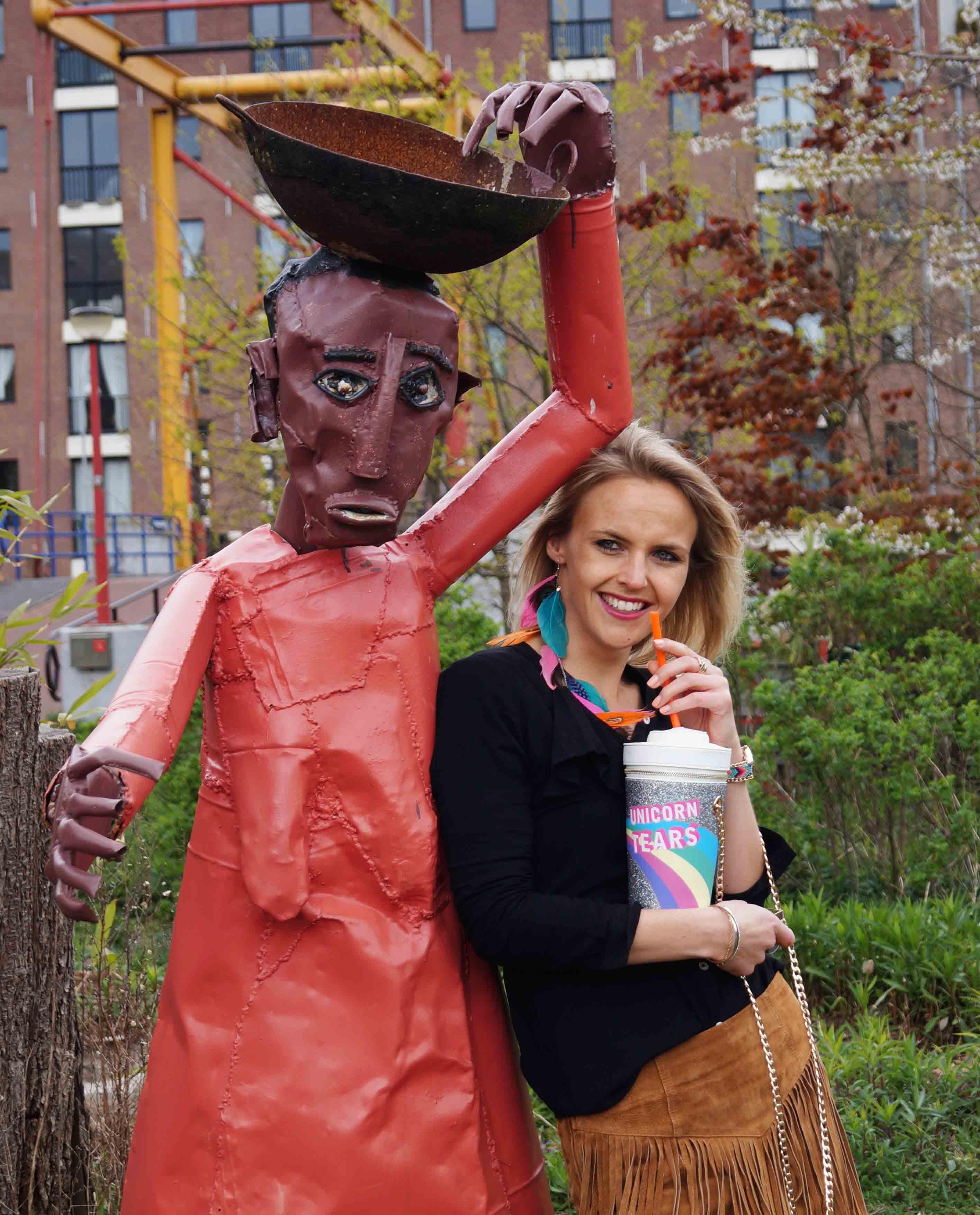 Bag at You - Fashion Blog - Festival tas - Party Bag - Milkshake - Unicorn schoudertas