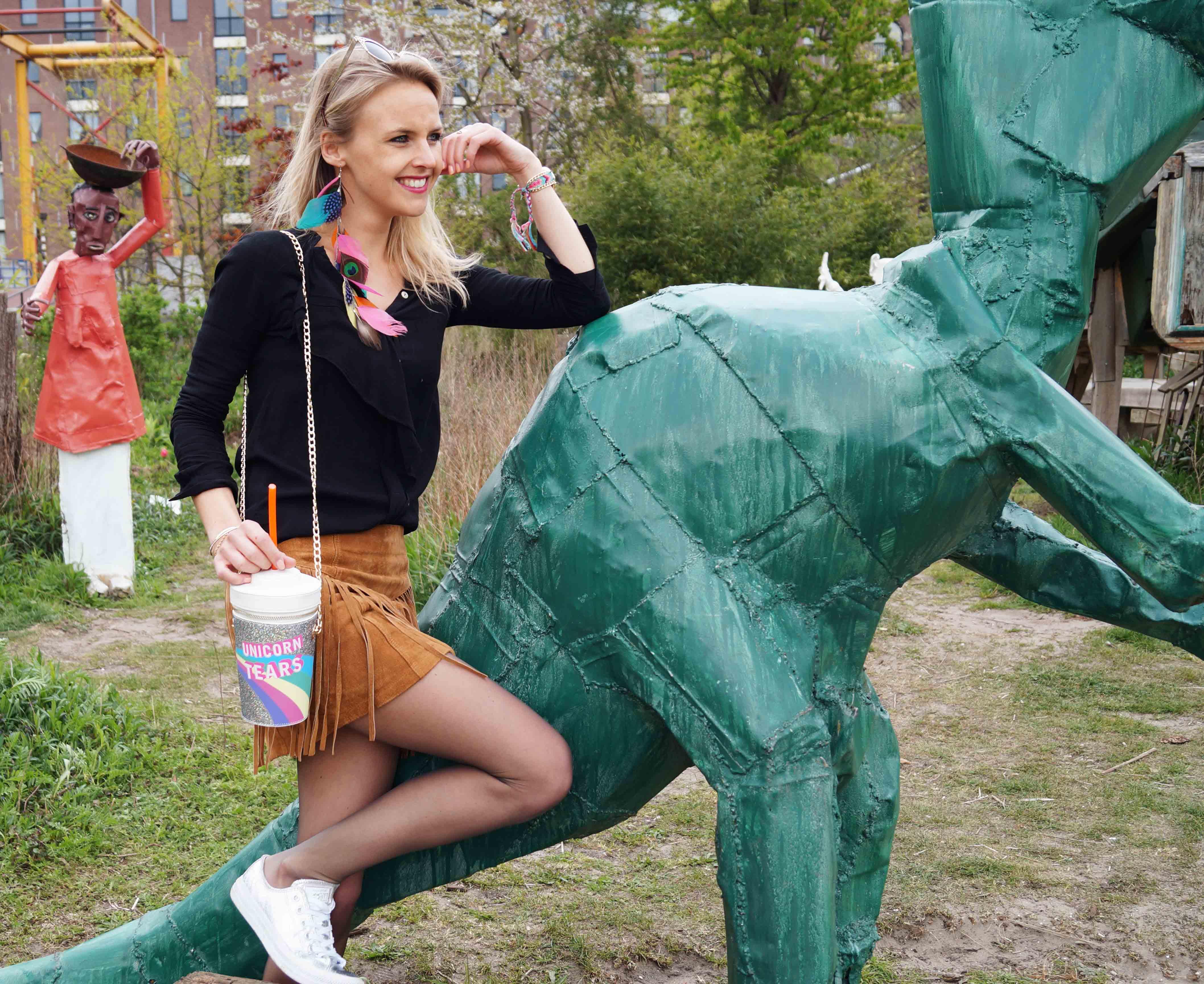 Bag at You - Fashion Blog - Festival tas - Party Bag - Milkshake Unicorn