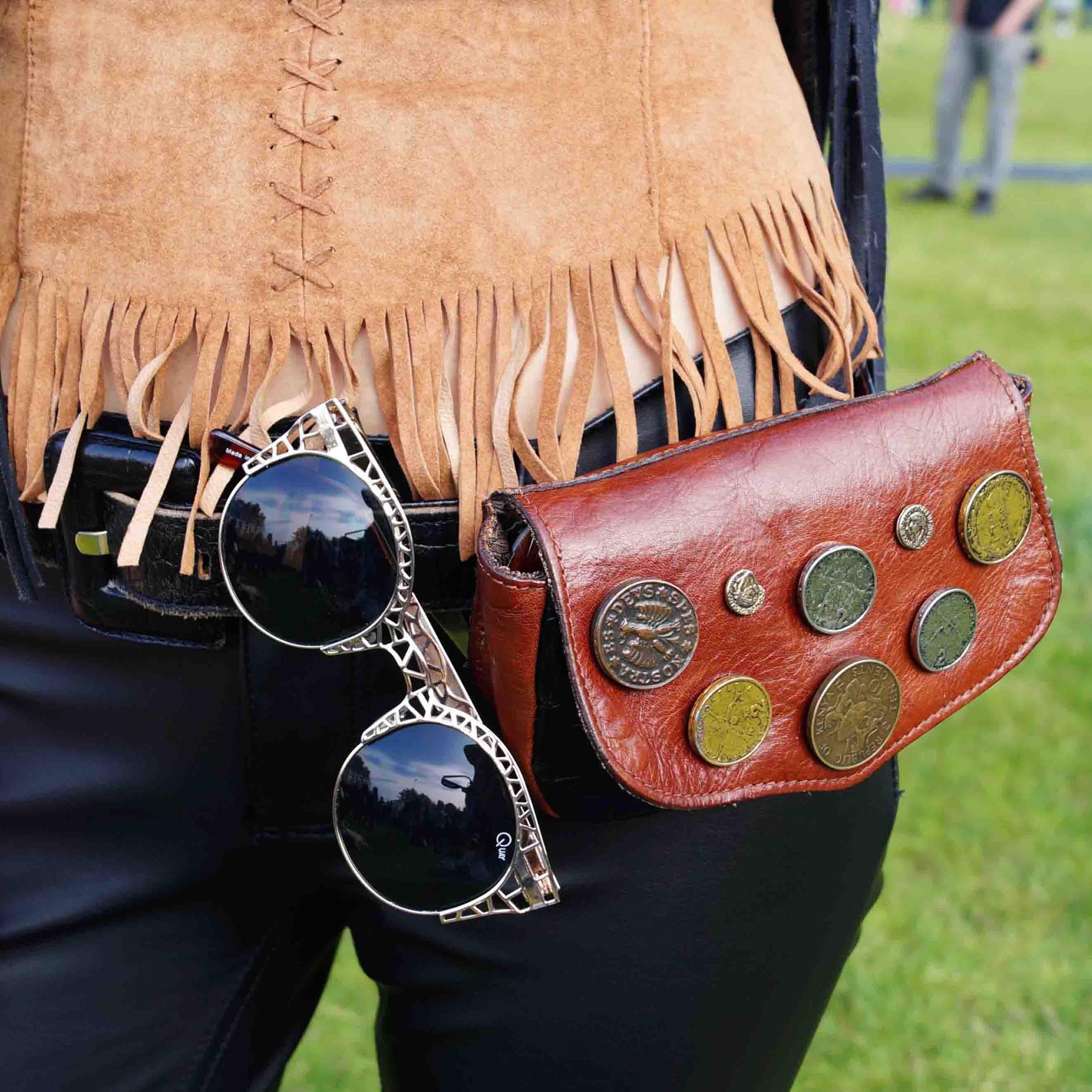 Bag at You - Fashion Blog - Fierce Fashion Festival - Leather Hipp Bag