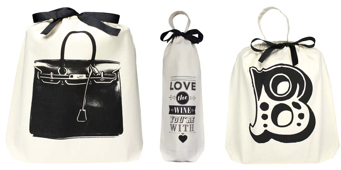 Bag at You - Fashionable alternatives for plastic bags - Bag all - Favorite cotton bags