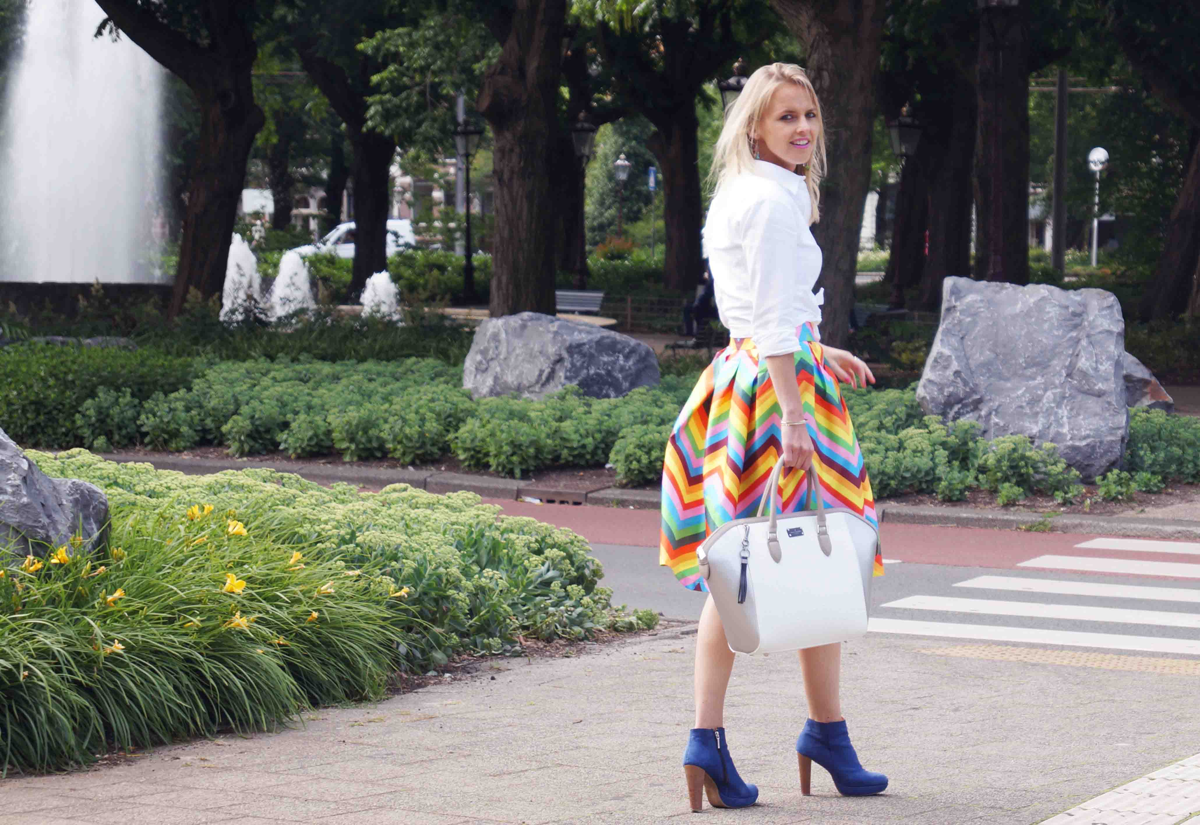 Bag at You - Fashion Blog - Paul's Boutique bags - Tassen SS15 - Summer OOTD - color walk