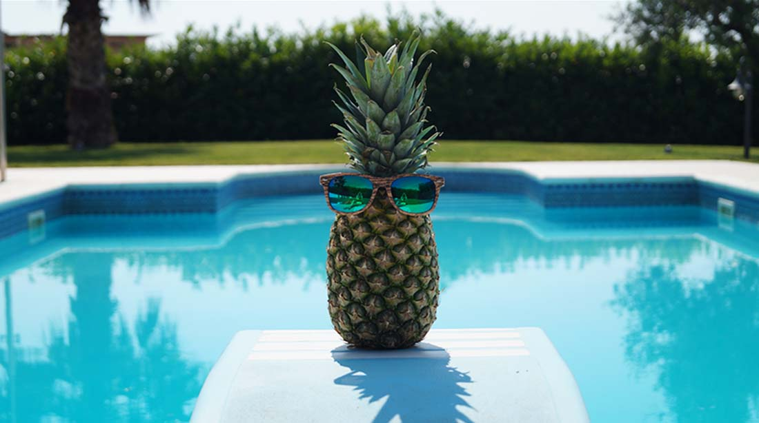 Bag at You - Fashion Blog - Pineapple bag - ananas tas - Sunglasses