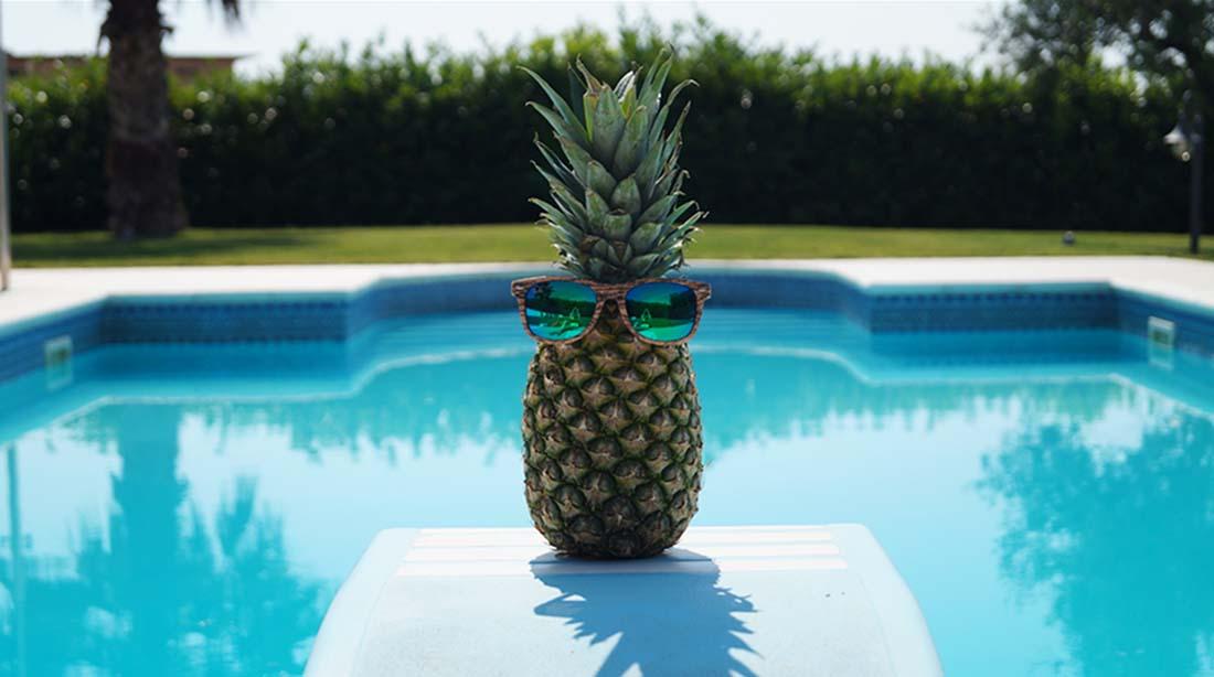 Bag at You - Fashion Blog - Pineapple bag - ananas tas - Sunglasses