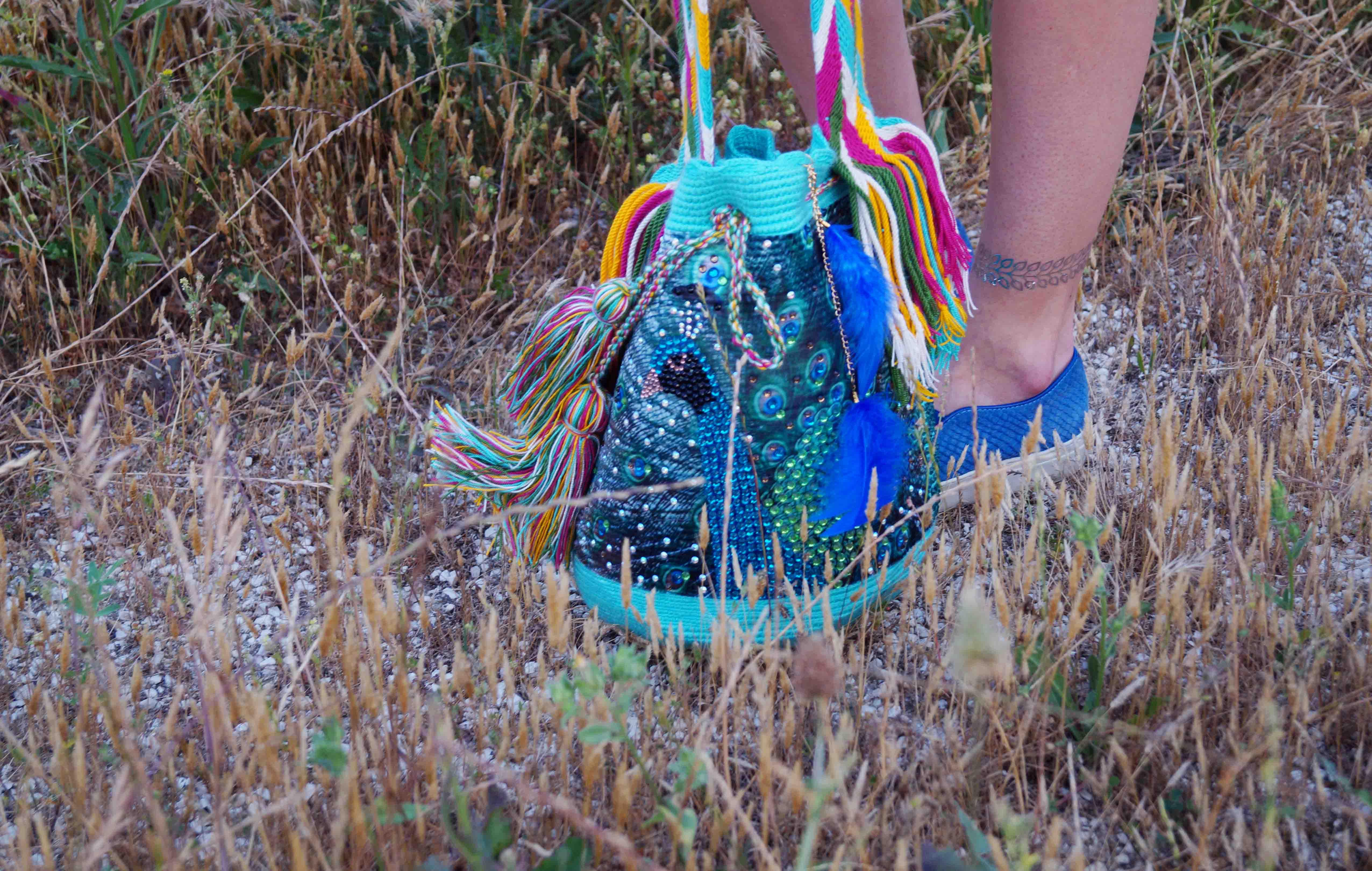 Bag at You - Fashion Blog - THINK X WAYUU BAGS - Pavo Real - Peacock