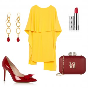 Bag at You - Fashion Blog - Wedding look 1 - Bruiloft outfit voor gast - Yellow love