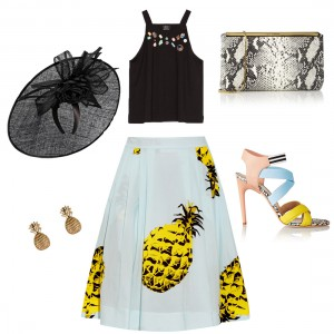 Bag at You - Fashion Blog - Wedding look 3 - Bruiloft outfit 3 - Pinapple Blues - Ananas Blauw