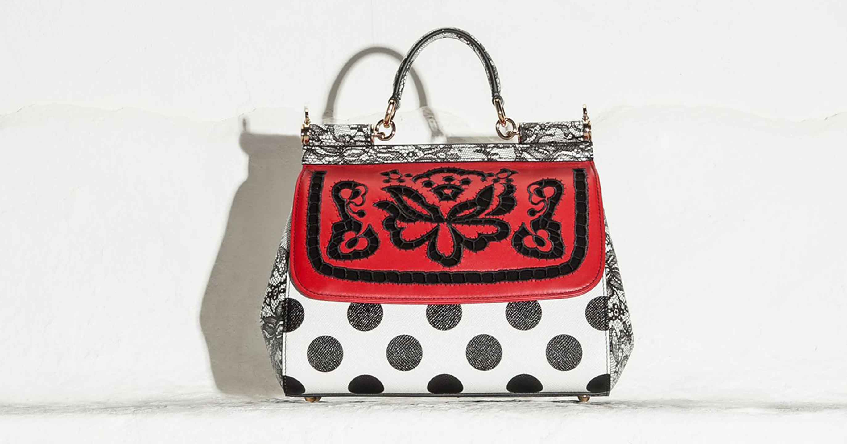 Bag at You - Fashion blog - Dolce & Gabbana Sicily mix polka dot lace cutwork