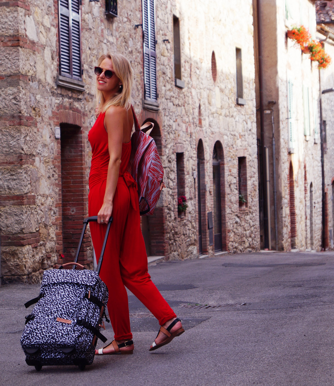 Bag at you fashion blog eastpak perfect trolley when you for Get away for the weekend