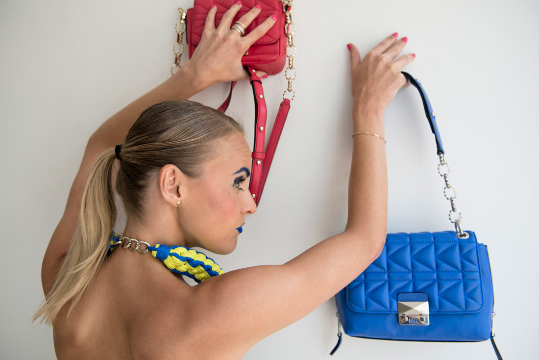 Bag-at-You---Fashion-Blog--Happy-Birthday---Make-Up---Blue-and-pink-bags-Karl-Lagerfeld