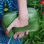 FashionWeek dress & clutch!