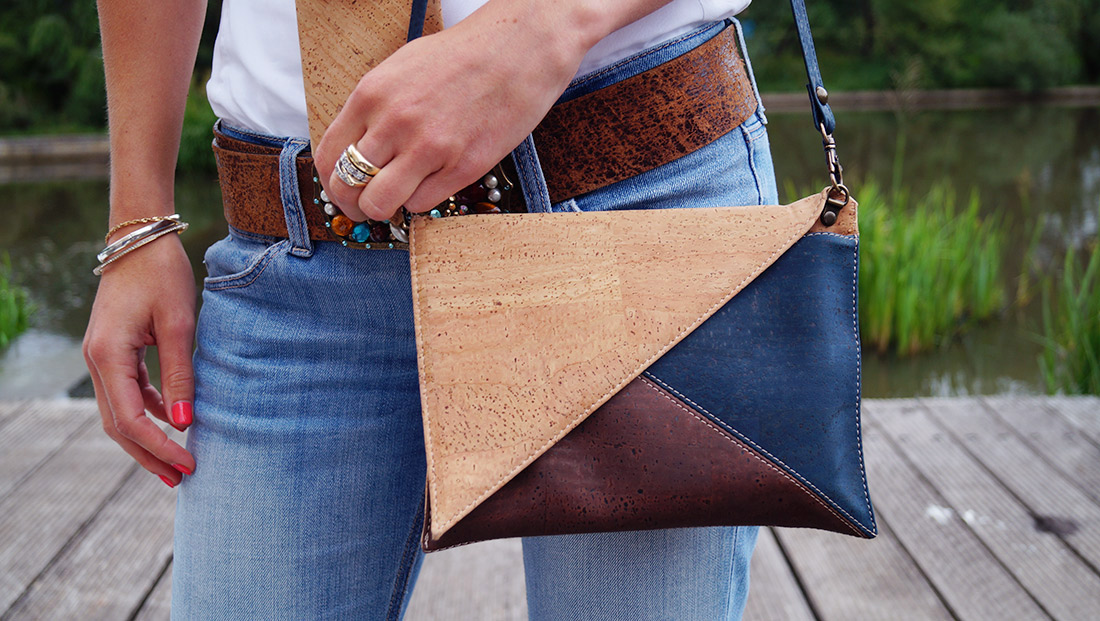 Bag-at-You---Fashion-blog---Cork-tie-and-bag---Streetstyle---jeans-and-white-shirt---Corque