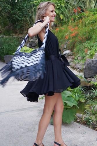 Bag at You - Fashion blog - La Bendicion Shoulder bag - Wayuu Colombia - Dancing in Puento Romano