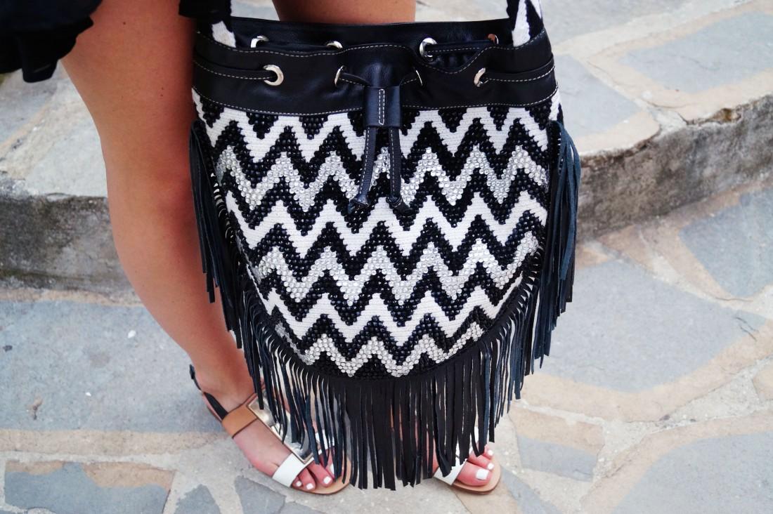 Bag at You - La Bendicion - Mochila Bag - Wayuu Colombia - Little black dress