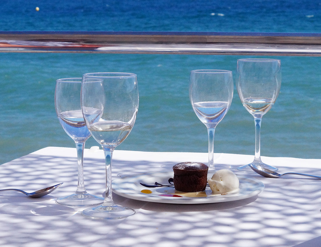 Bag-at-You---Fashion-blog---Hotspot-Marbella---El-Ancla-Restaurante---Dessert-and-sea-view