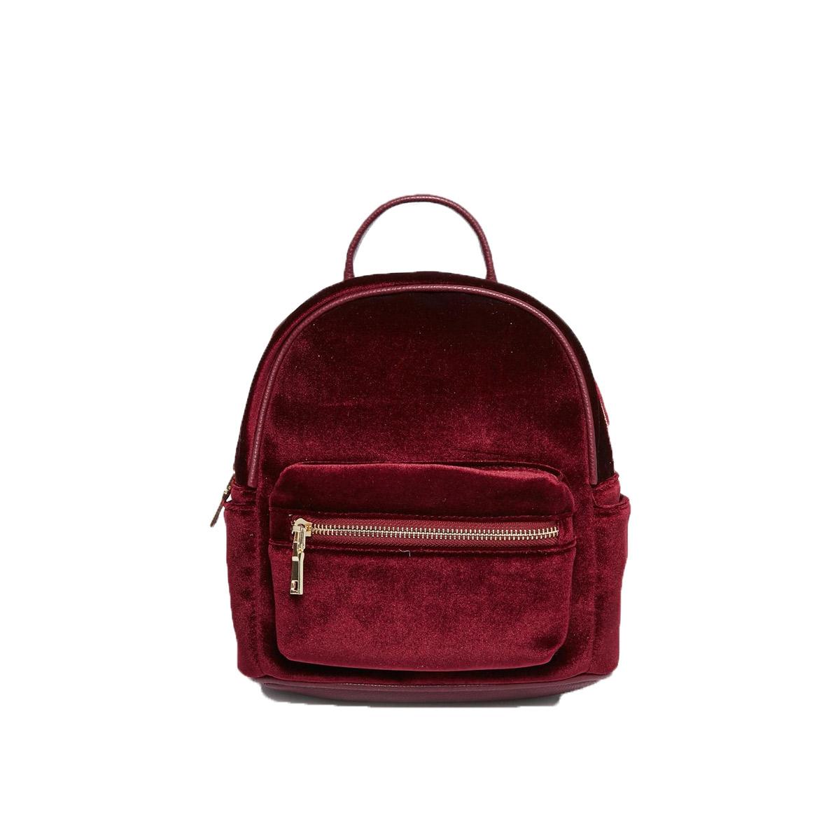 Bag-at-You---Fahion-Blog---Street-Level-Micro-Velvet-Backpack
