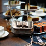 High tea in the Conservatorium Hotel