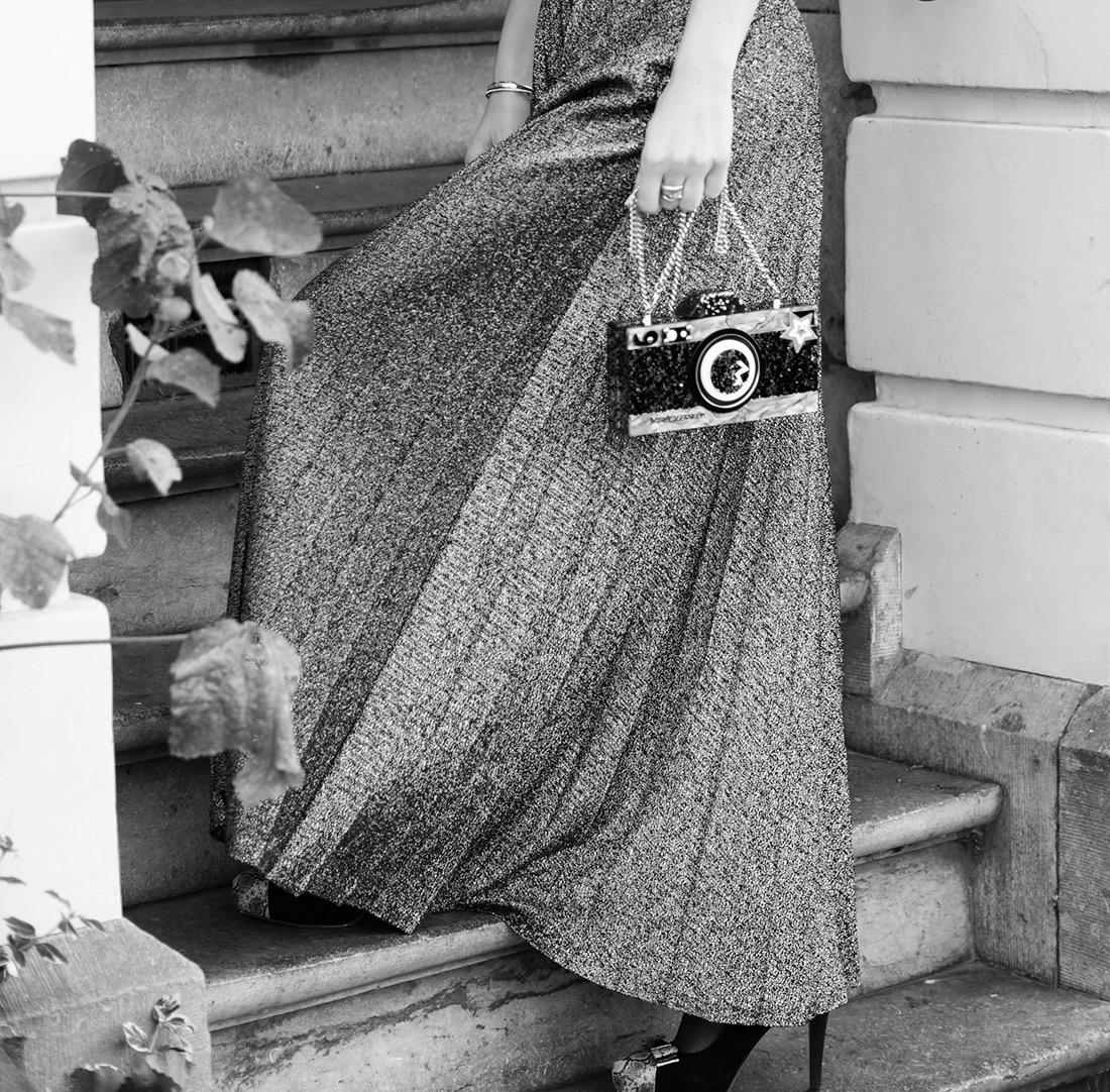Bag-at-you---fashion-blog---Karl-Lagerfeld-Camera-Bag---silver-skirt