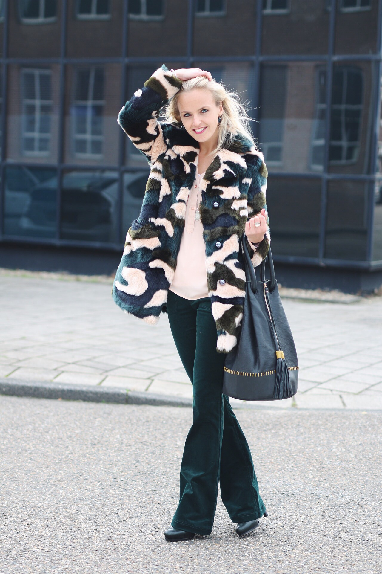 Bag at You - Fashion blog - Look Amayzine - Stieglitz Bag and Topshop Jacket