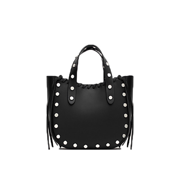 53d9aa4f ZARA Mini Studded Tote - Bag at You